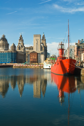 Il Mersey a Liverpool